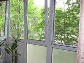 балкон без перил