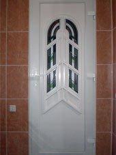 Витражная дверь Аметист