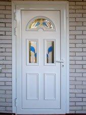 Дверь витражная Диамант