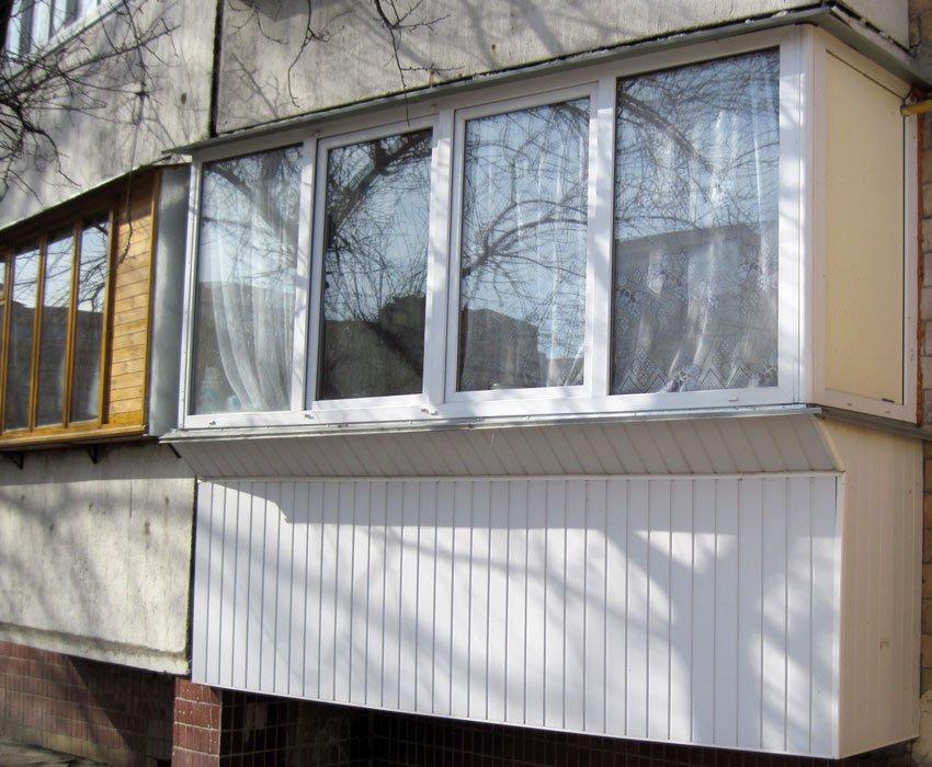 Остекление балконов лоджий, остекление на балконе, застеклит.