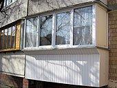 Застеклить балкон Киев цена