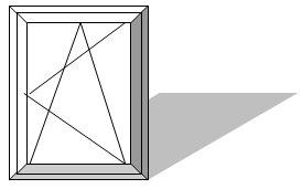 Размеры металлопластиковых окон