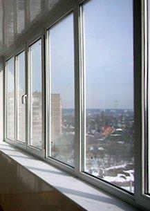 Расчет остекления балкона
