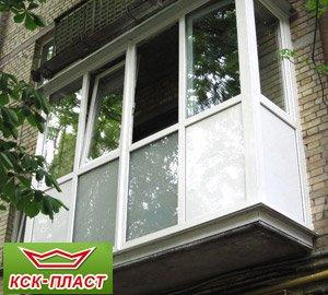 Пластиковые балконы Киев цены