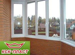 Заказать пластиковые окна на балкон