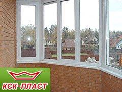 Застеклить балкон пластиковыми окнами цены