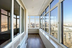 Окна остекление балконов