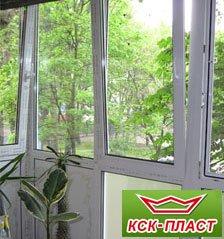 Сделать балкон под ключ изнутри цена